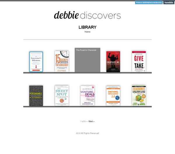 Tumblr: My Library