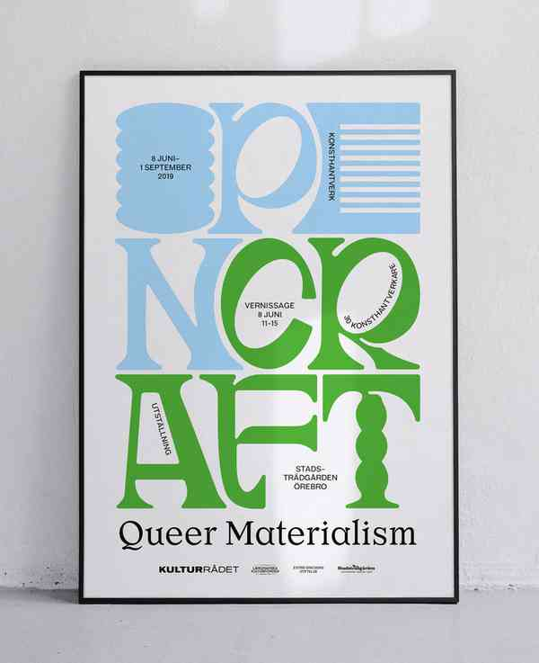 Queer Materialism | Poster