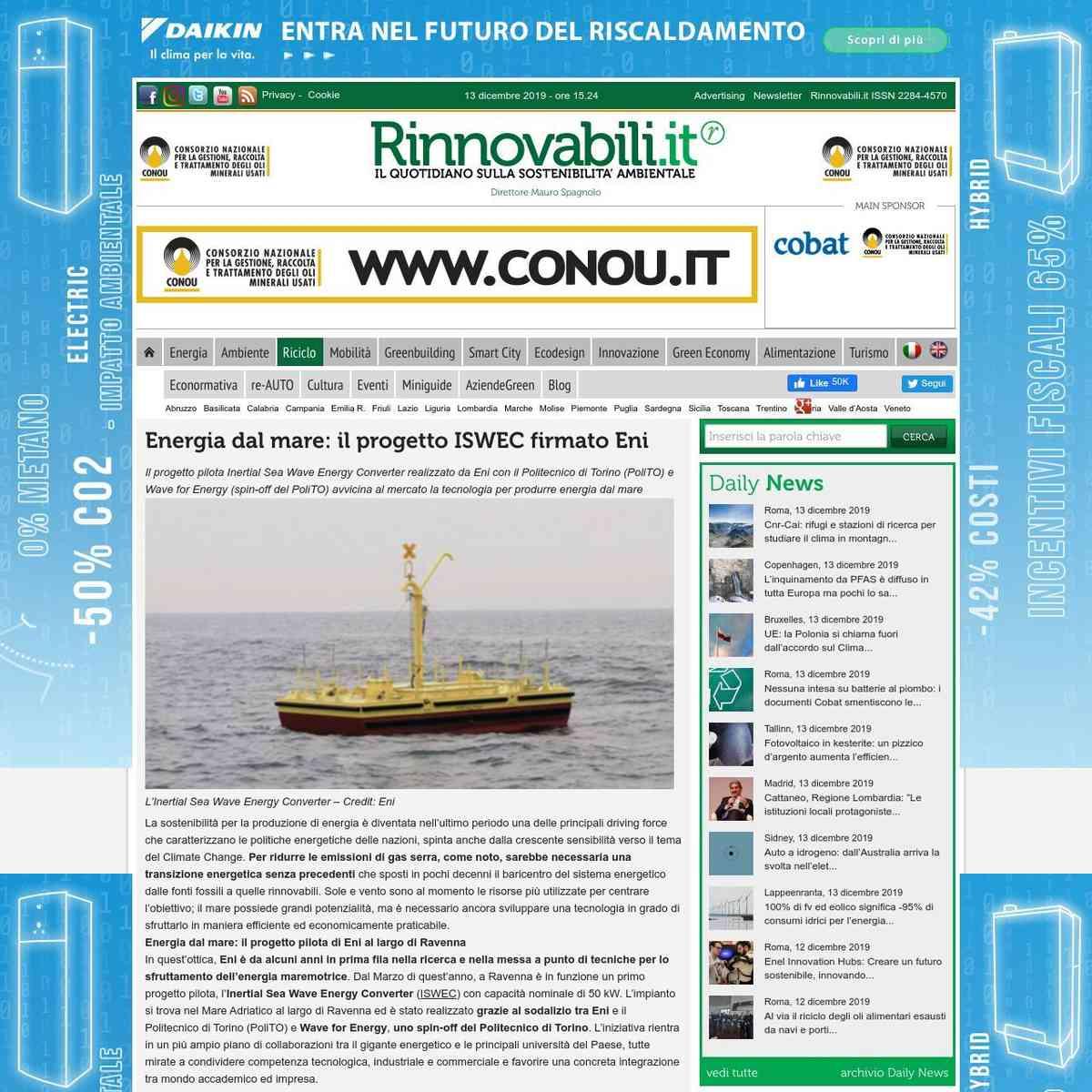 rinnovabili.it/dettaglio-comunicato-stampa/energia-dal-mare-il-progetto-iswec-firmato-eni/