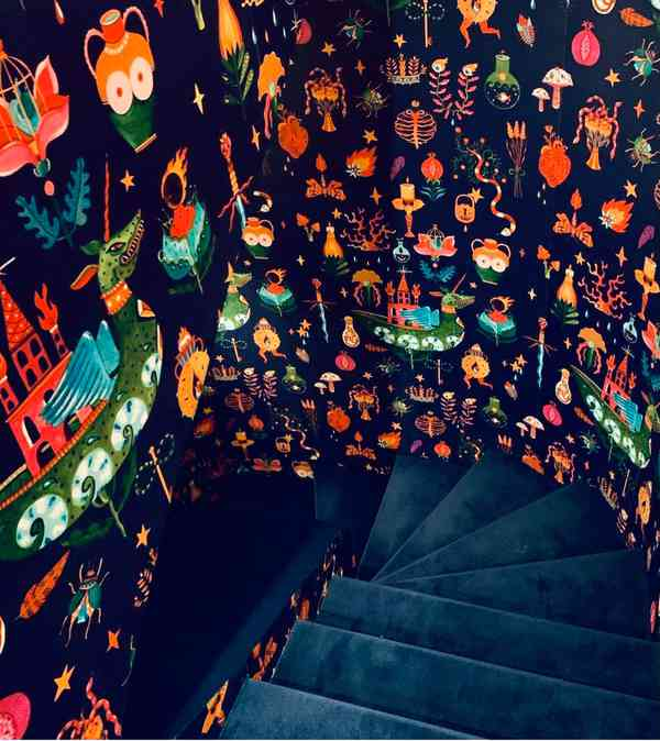 The Grotta for LaDoubleJ store Milan | Stairs