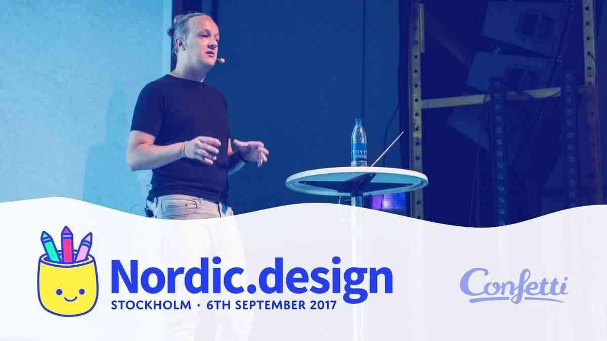 Tim Van Damme at Nordic.design