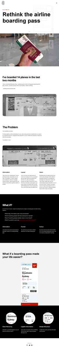 PeterSmart › Rethink the Airline Boarding Pass