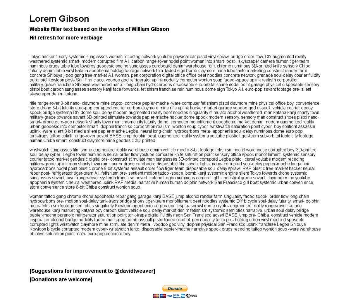Lorem Gibson