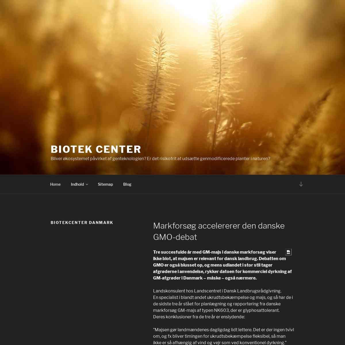 biotekcenter.dk