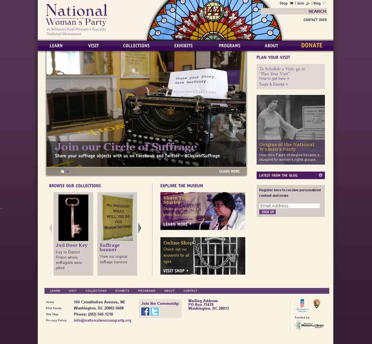 Sewall-Belmont House Museum | Celebrating the history of women's progress toward equality