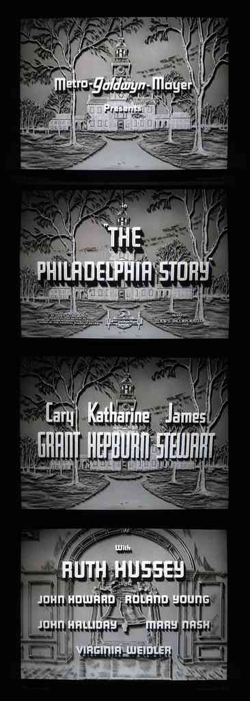 The Philadelphia Story titles