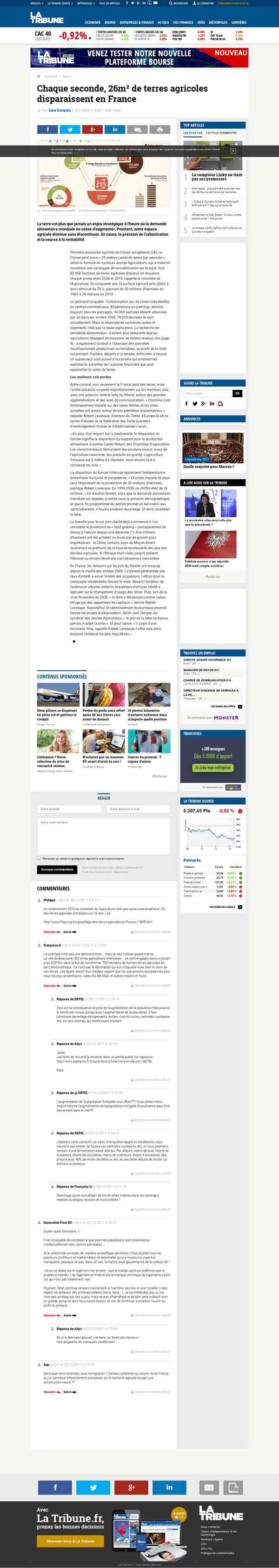 latribune.fr/actualites/economie/france/20111221trib000672707/chaque-seconde-26m-de-terres-agricole…