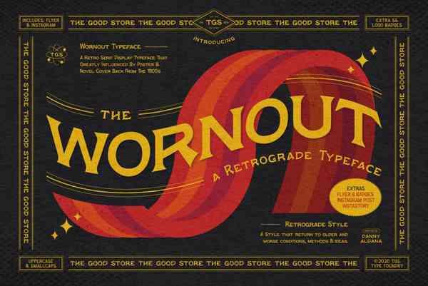 Wornout Font