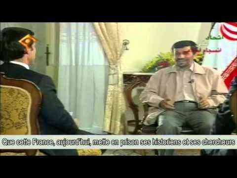 (1) Iran / Pujadas-Ahmadinejad: L'interview cachée aux français - YouTube
