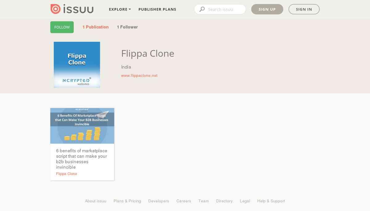 Flippa Clone on issuu