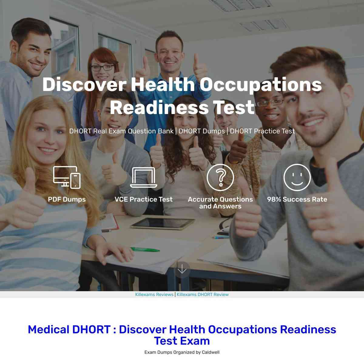Take Medical DHORT PDF Questions and practice with Questions and Answers