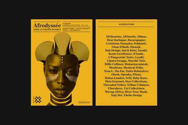 Afrodyssée 2019 | Poster