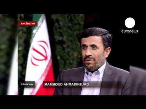 Mahmoud Ahmadinejad sur Euronews le 05 août 2011 - Un sage parmis les fous