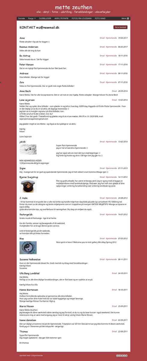 KONTAKT - www.mettezeuthen.dk