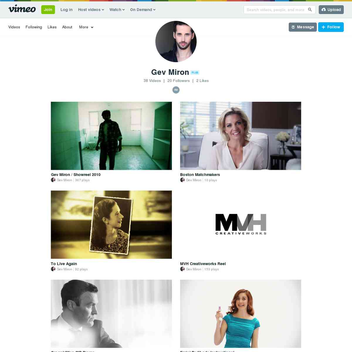 vimeo.com/gevmiron