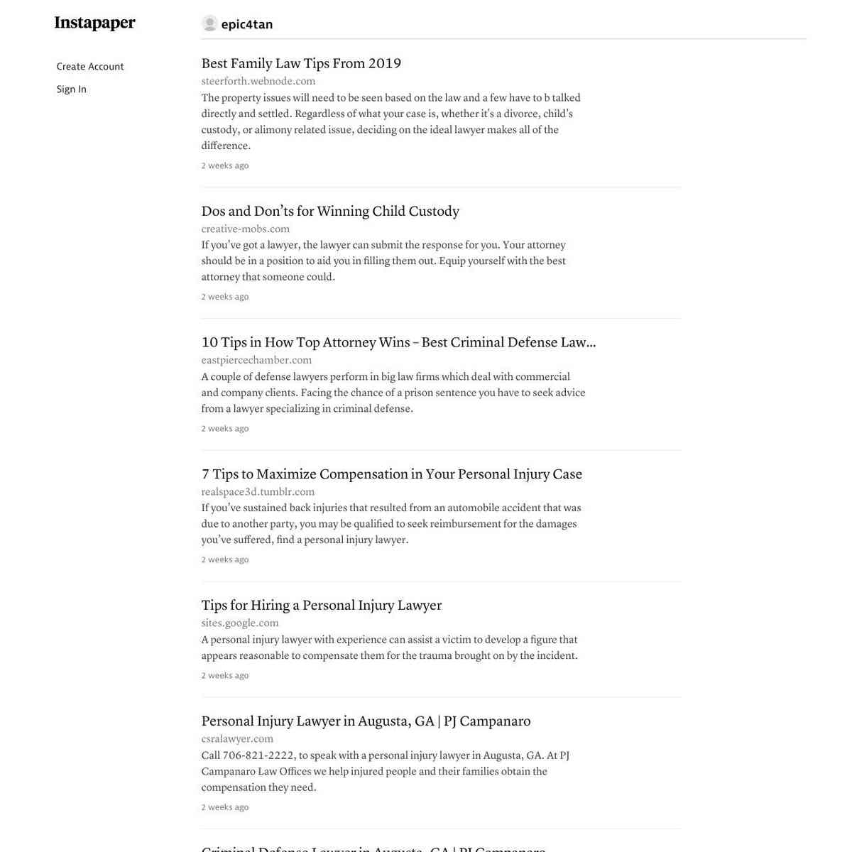 Instapaper Marketing Blog