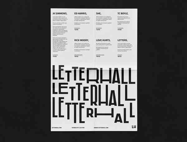 LetterHall | Poster