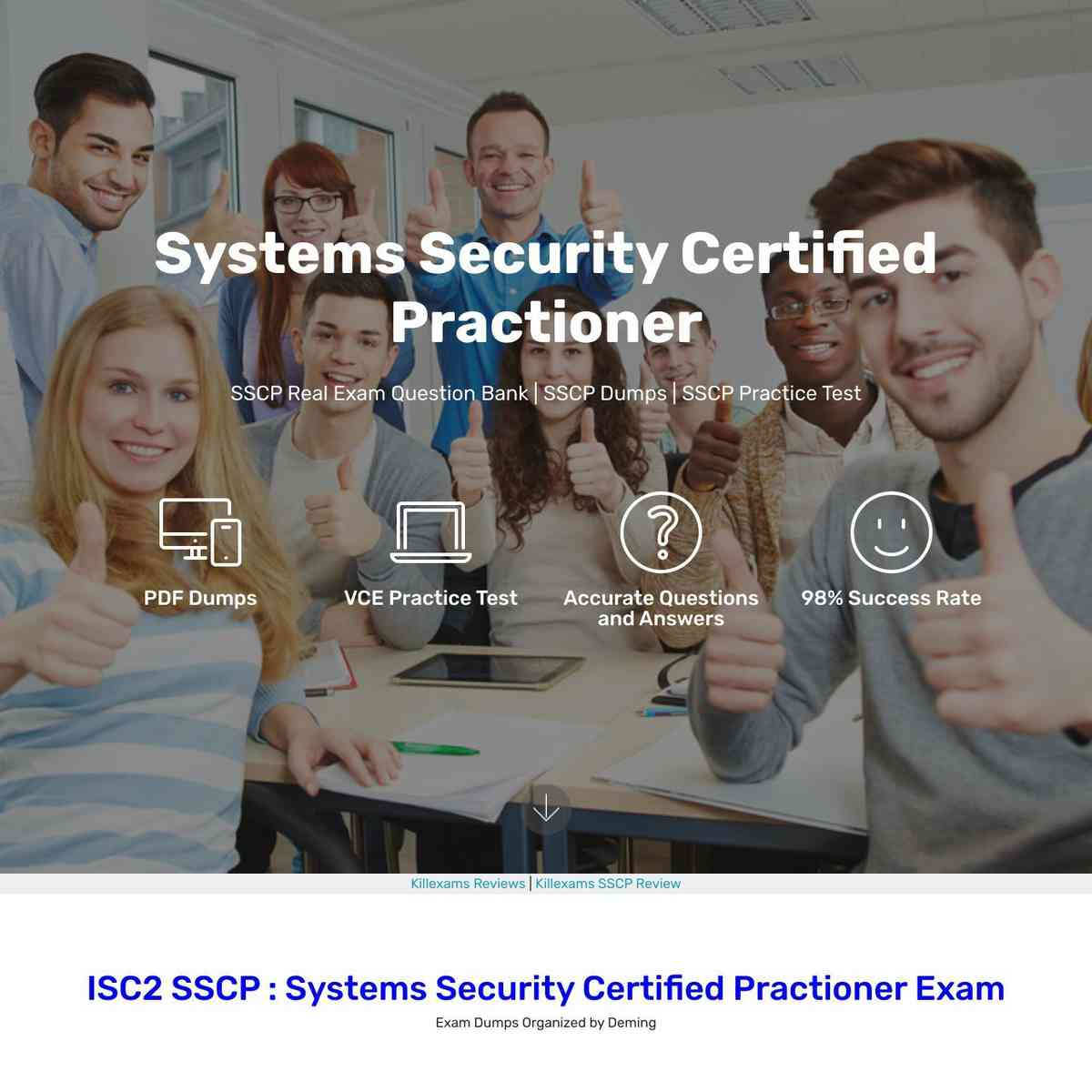 SSCP boot camp are ultimately necessary for real exam