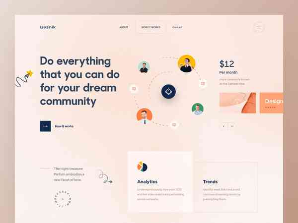 Community Landing Page | Hero