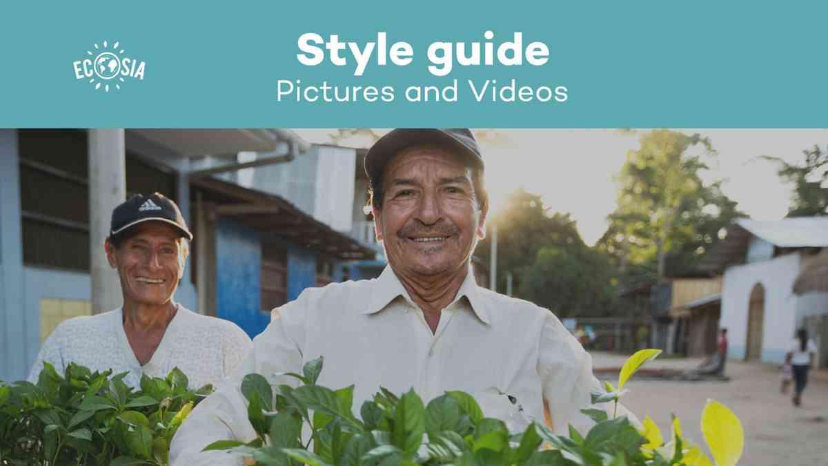 Style Guide Ecosia I