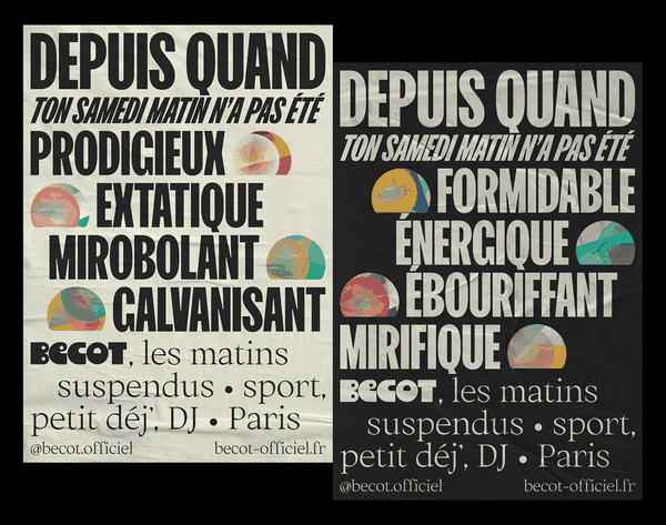 Bécot | Posters