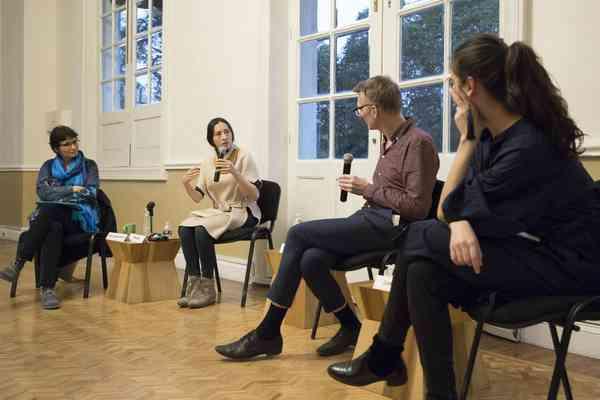 Susana González Aktories Alethia Alfonso, Manfred Werder, Cinthya García Leyva. Casa del Lago, fe…