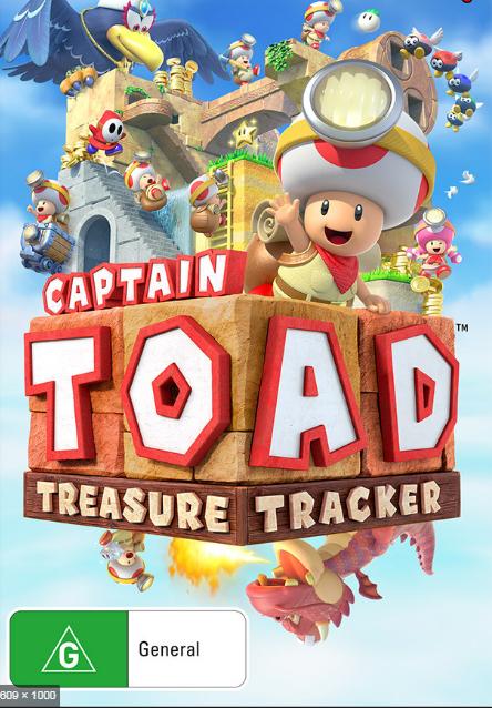 Captain Toad. Treasure tracker