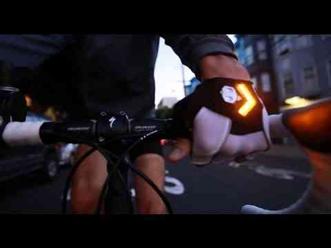 Introducing Zackees Turn Signal Gloves on Kickstarter