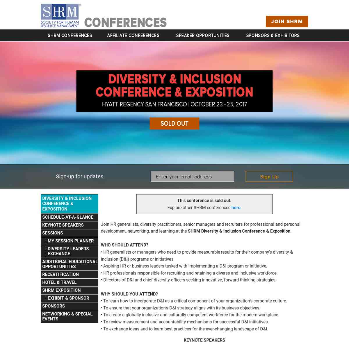 Diversity & Inclusion Conference & Exposition   Conferences