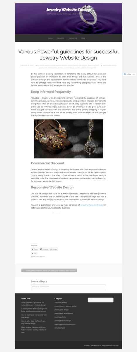 jewelrywebsitedesigns.wordpress.com/2014/08/30/various-powerful-guidelines-for-successful-jewelry-w…