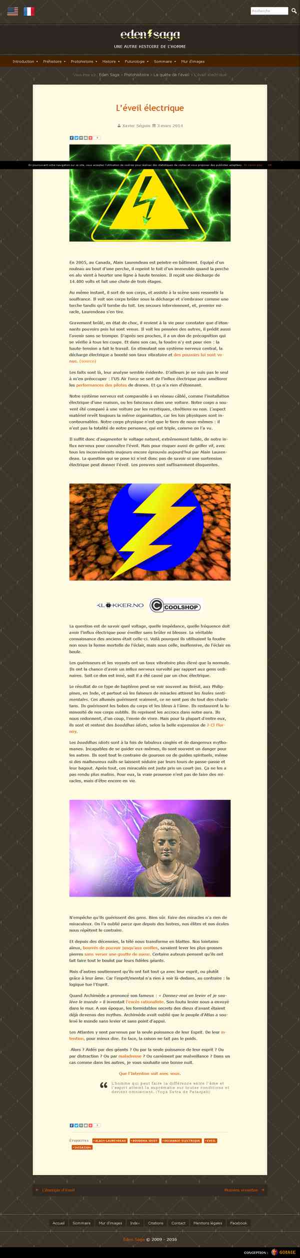 L'éveil électrique - Eden Saga
