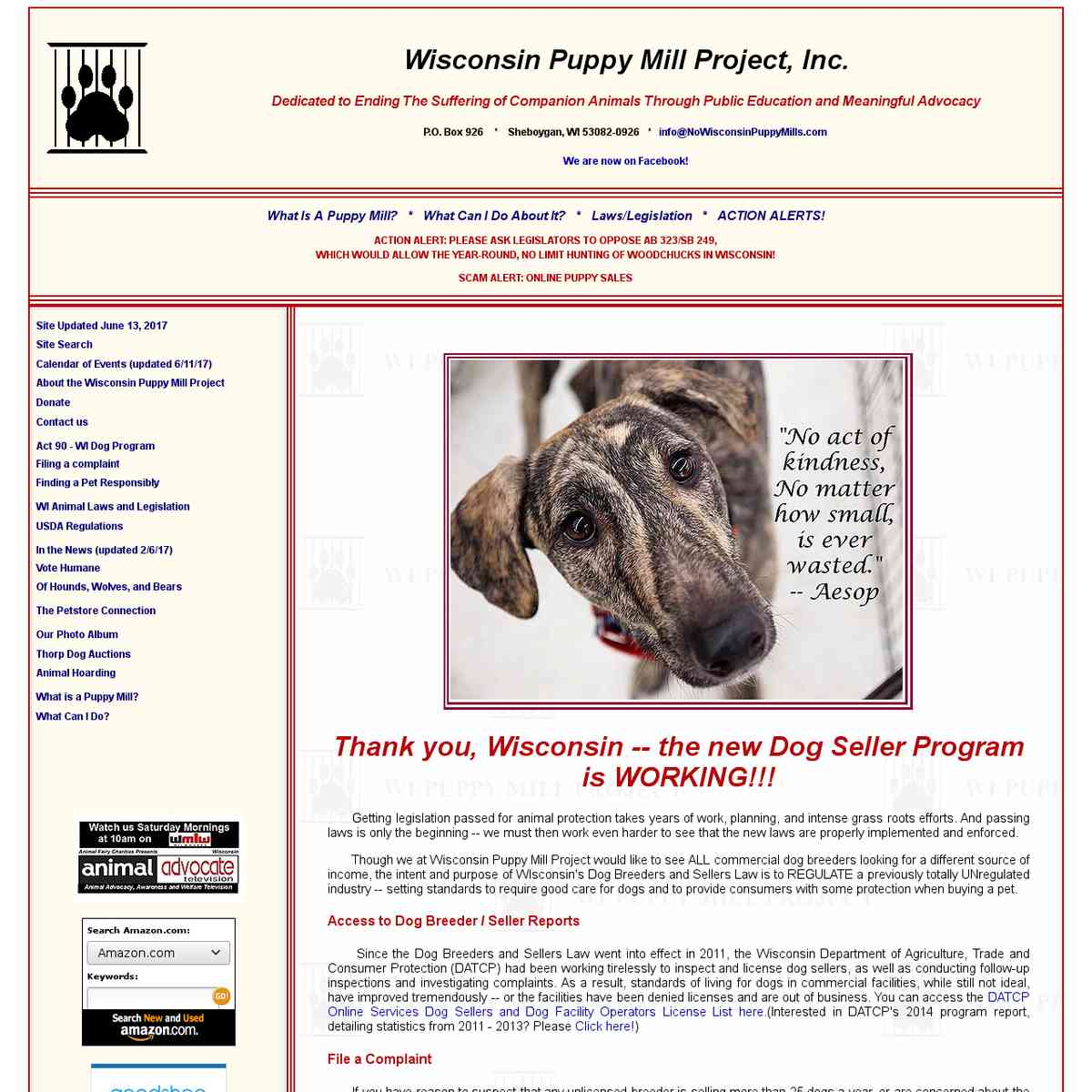 Wisconsin Puppy Mill Project, Inc