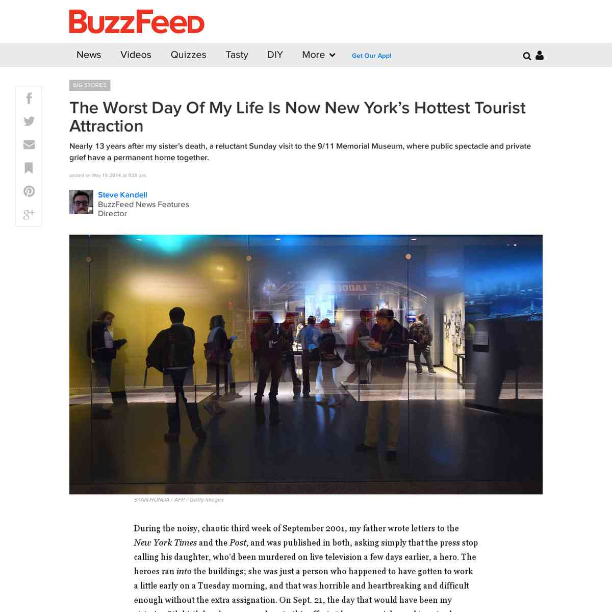 The Worst Day Of My Life Is Now New York's Hottest Tourist Attraction - BuzzFeed News