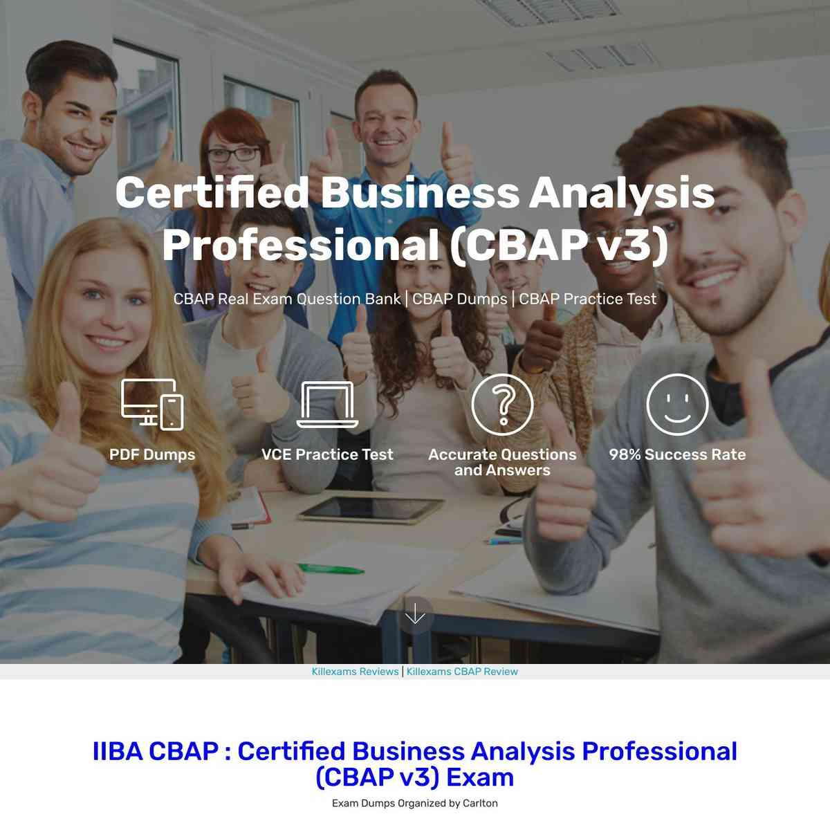 Real CBAP questions that verified up in test today