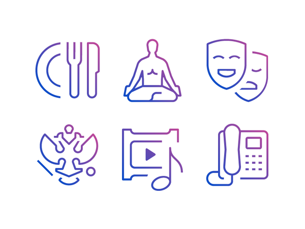 Touchbank Icons