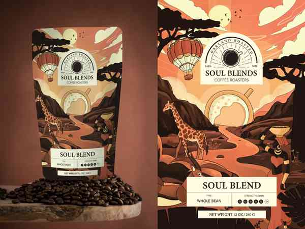 SoulBlends   Coffee Package