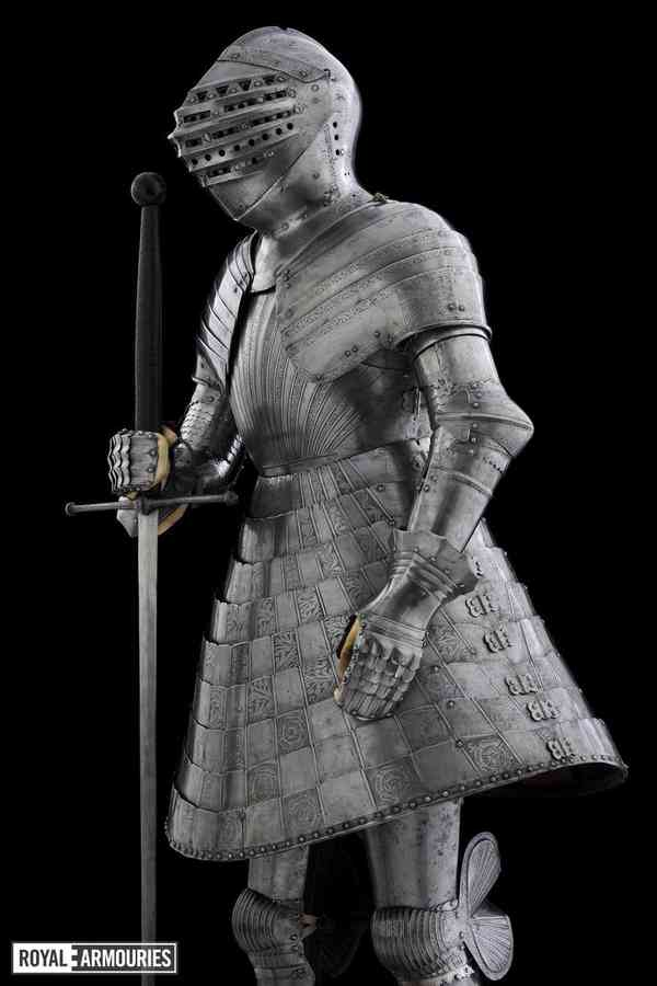 """Museum Archive on Twitter: """"Henry VIII's tonlet armour, made for the Field of the Cloth of Gold tou…"""