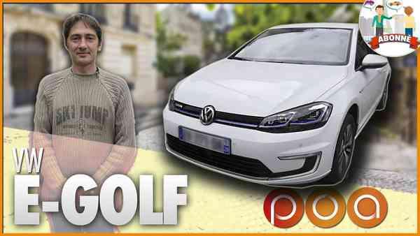 (2) 🚗 VW E- GOLF・POURQUOI JE ROULE EN GOLF ELECTRIQUE ? - YouTube