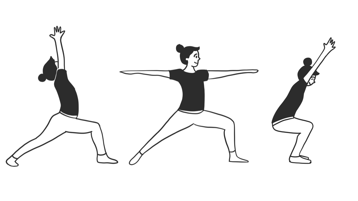 Namasketch — Yoga Session in Doodles