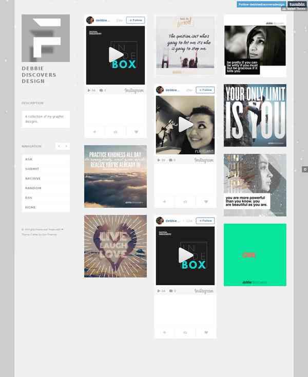 Tumblr: Design Portfolio