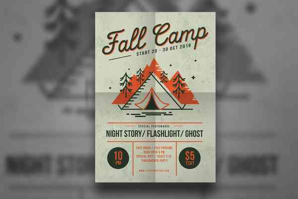 $ Fall Camp Flyer