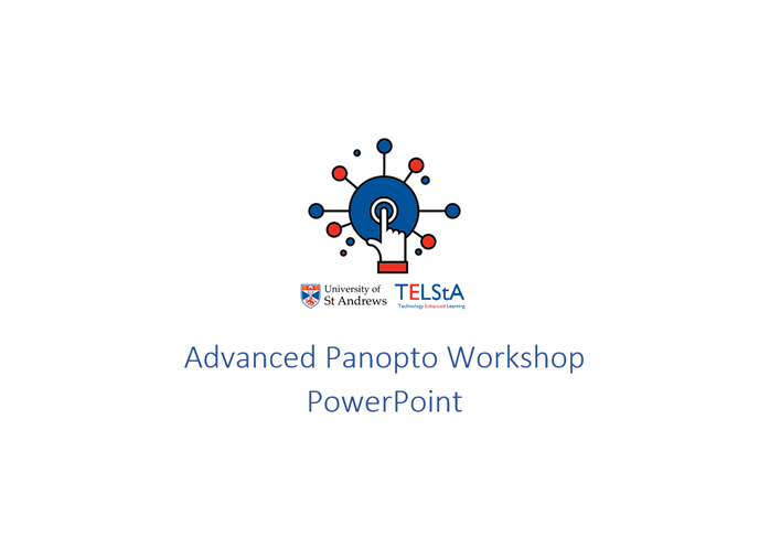Advanced Lecture Capture Workshop.pptx
