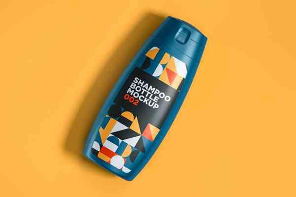 $ Shampoo Bottle Mockup 002