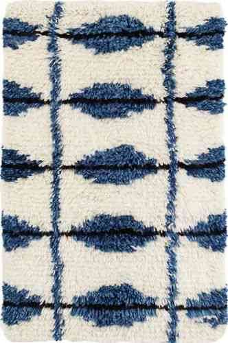 Dash and Albert Noma Indigo Woven Wool Rug for Sale - Cottage & Bungalow