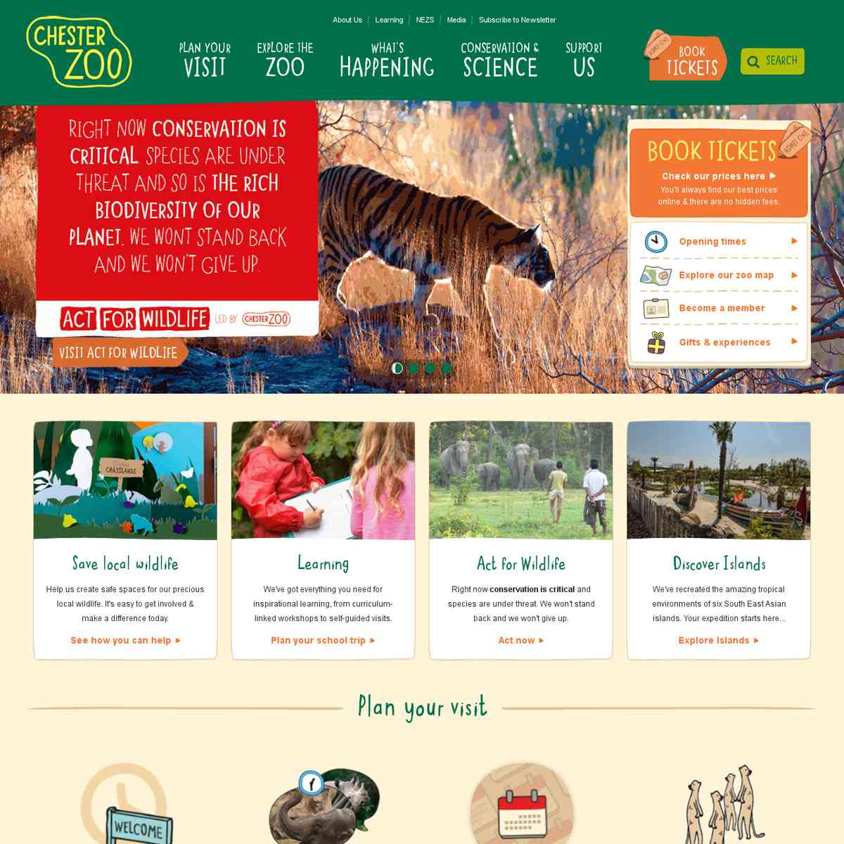 Inspiration - Chester Zoo