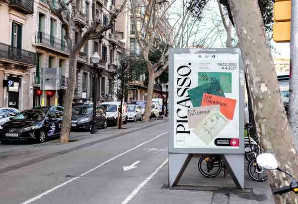 Picasso. Els quaderns | Poster