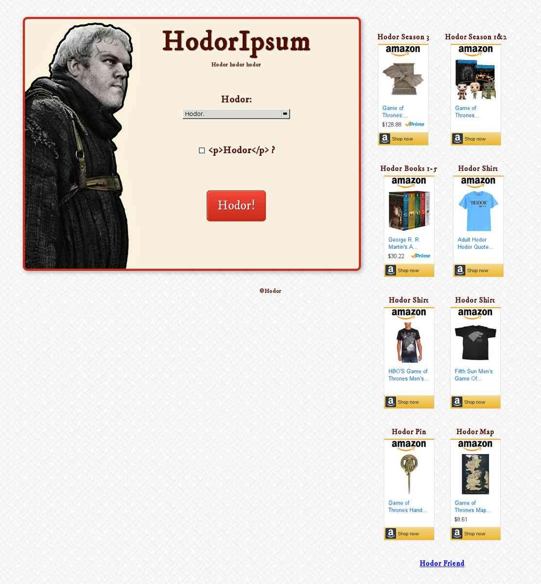 HodorIpsum