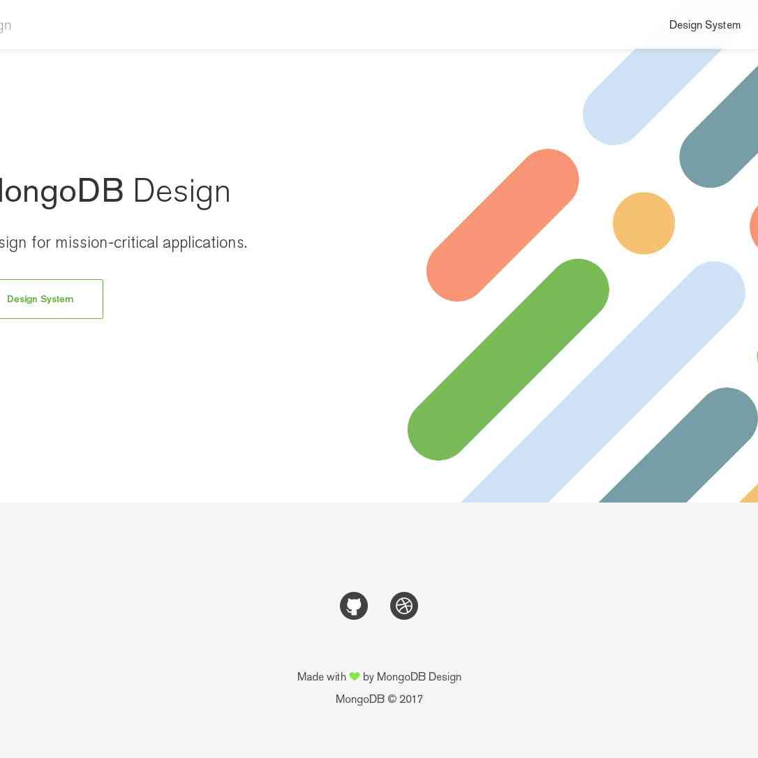 MongoDB Design System