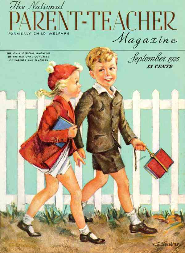 Parent-Teacher Magazine 1935