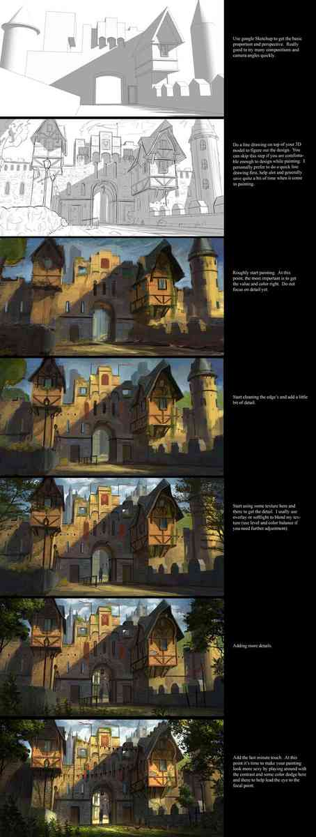 jonathan dufresne - painting tutorial